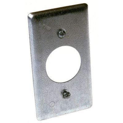 Hubbellraco Single Gang Handy Box Cover Metal Electrical Box Covered Boxes Electrical Supplies