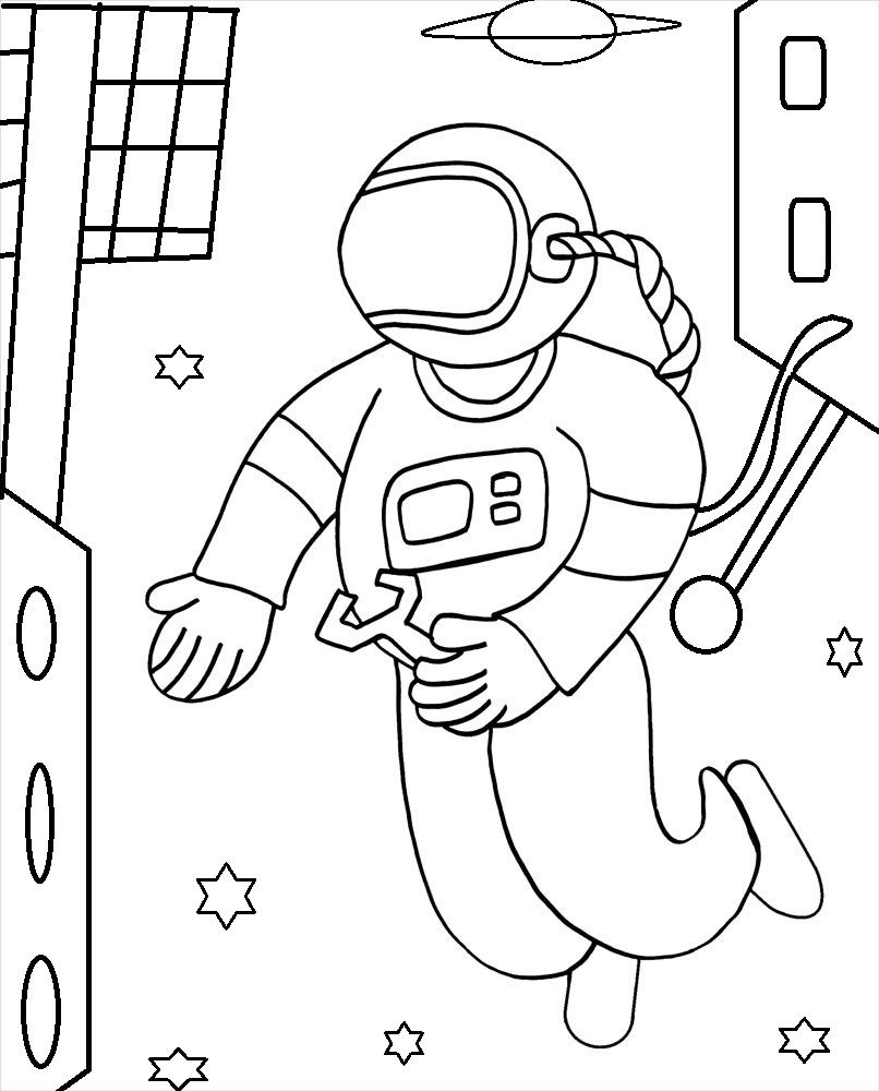 Printable Astronaut Coloring Pages For Kids Cool2bkids Space Coloring Pages Coloring Pages For Kids Coloring Pages