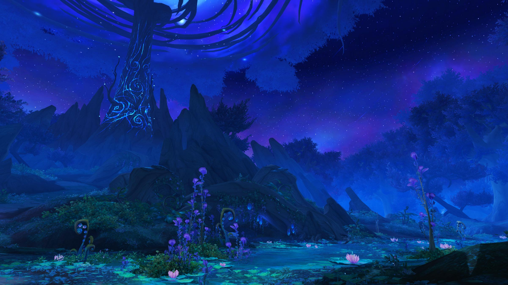 Night Fae Covenants Shadowlands The Covenant World Of Warcraft Warcraft
