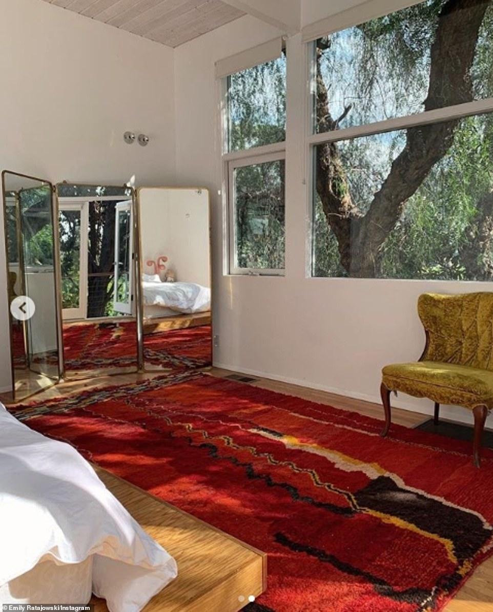 Inside Emily Ratajkowski's LA home with husband Sebastian