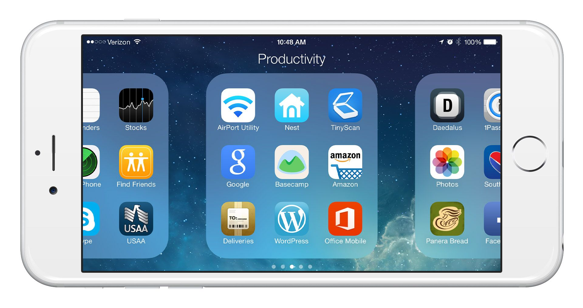 How unlock the iPhone landscape mode on the iPhone 6 / 6