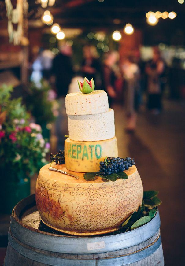 EWA + ANDY // #cake #wedding #cheese #tower #savoury #idea