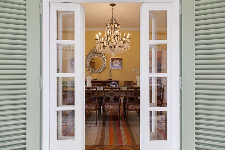 Decoração de: Detalhes; venezianas pistache; Casa de Valentina