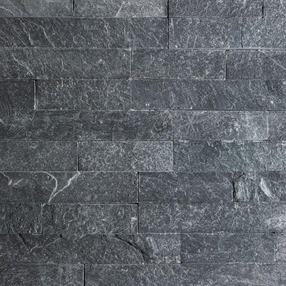 Silver Grey Split Face Mosaic Tiles Close Up