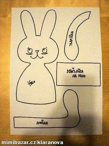 Molde coelha