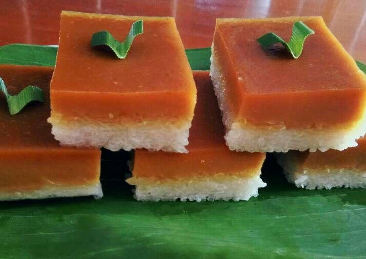 Resep Talam Ketan Sarikaya Oleh Marissca Bangun Resep Pudding Desserts Hidangan Penutup Makanan Dan Minuman