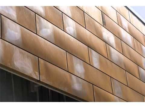 חיפוי קירות לוחות קורטן על ידי רולמט