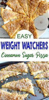 Weight Watchers Cinnamon Sugar Pizza  BEST WW Recipe  Breakfast  Treat  Snack with Smart  Weight Watchers Cinnamon Sugar Pizza  BEST WW Recipe  Breakfast  Treat  Snack wi...
