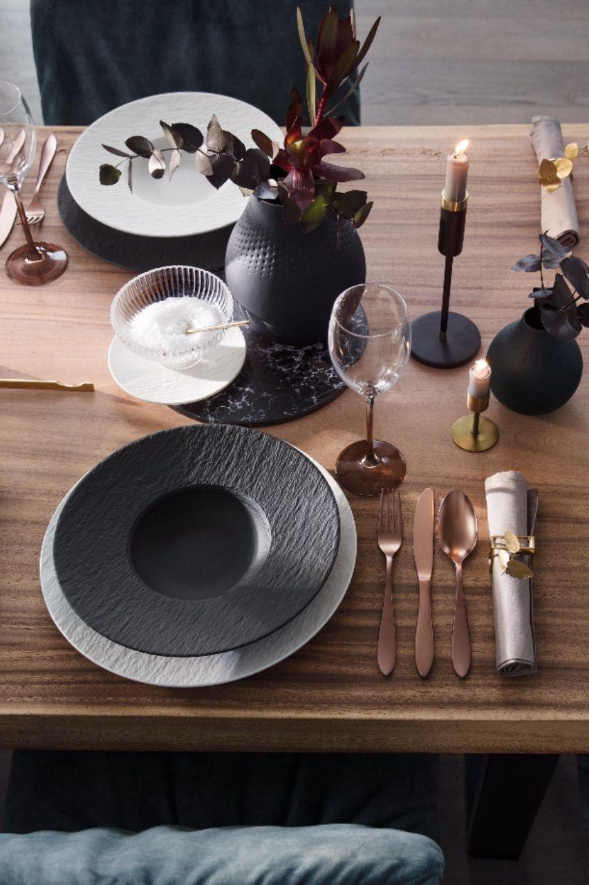 Herbstliche Festtafel Tischdeko Ideen Fur Den Herbst Esstisch Modern Gedeckter Tisch Tafelservice Modern