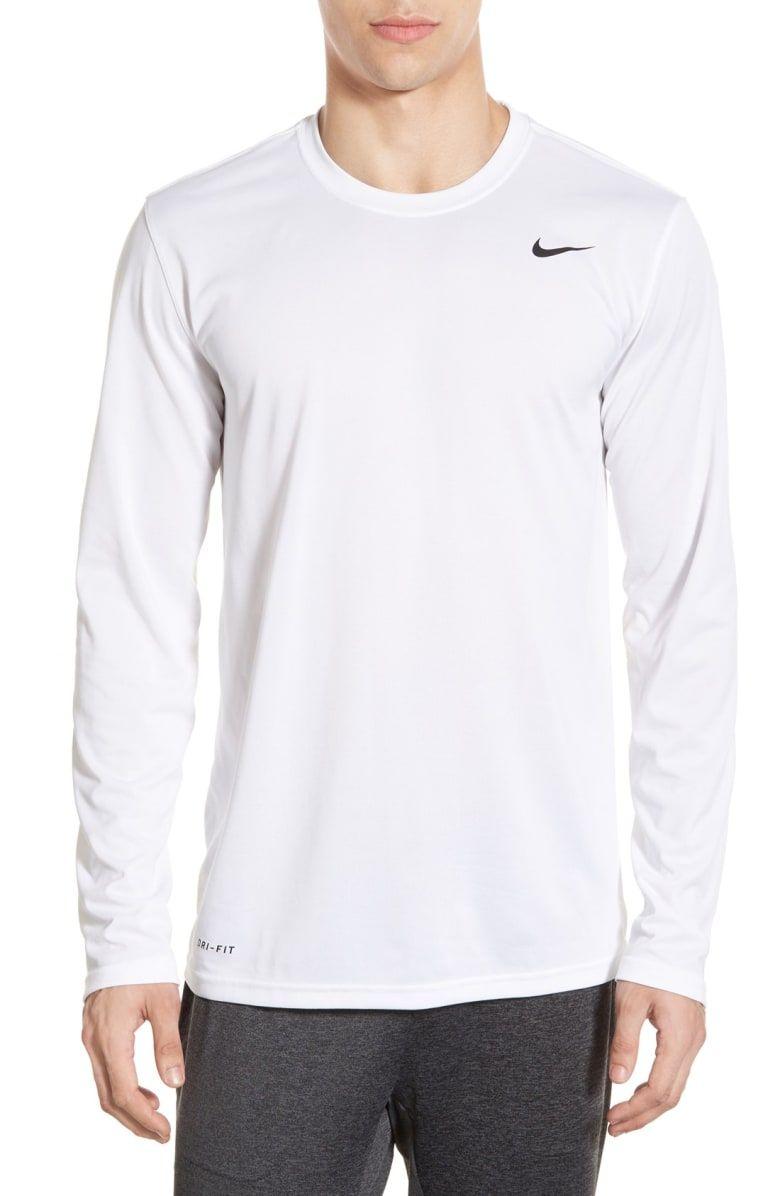 1246300f76d0f7 NIKE 'Legend 2.0' Long Sleeve Dri-FIT Training T-Shirt. #nike #cloth ...