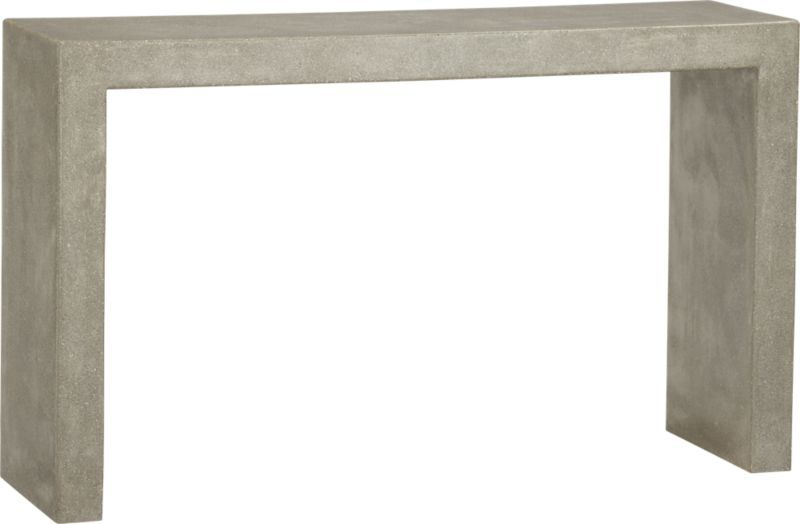 Mason Console Table From Crate And Barrel Love This It S Earthy