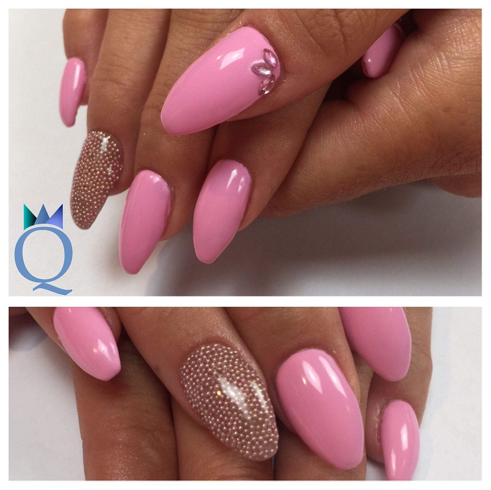 coffinnails #gelnails #nails #rose #ballerinaform #gelnägel #nägel ...