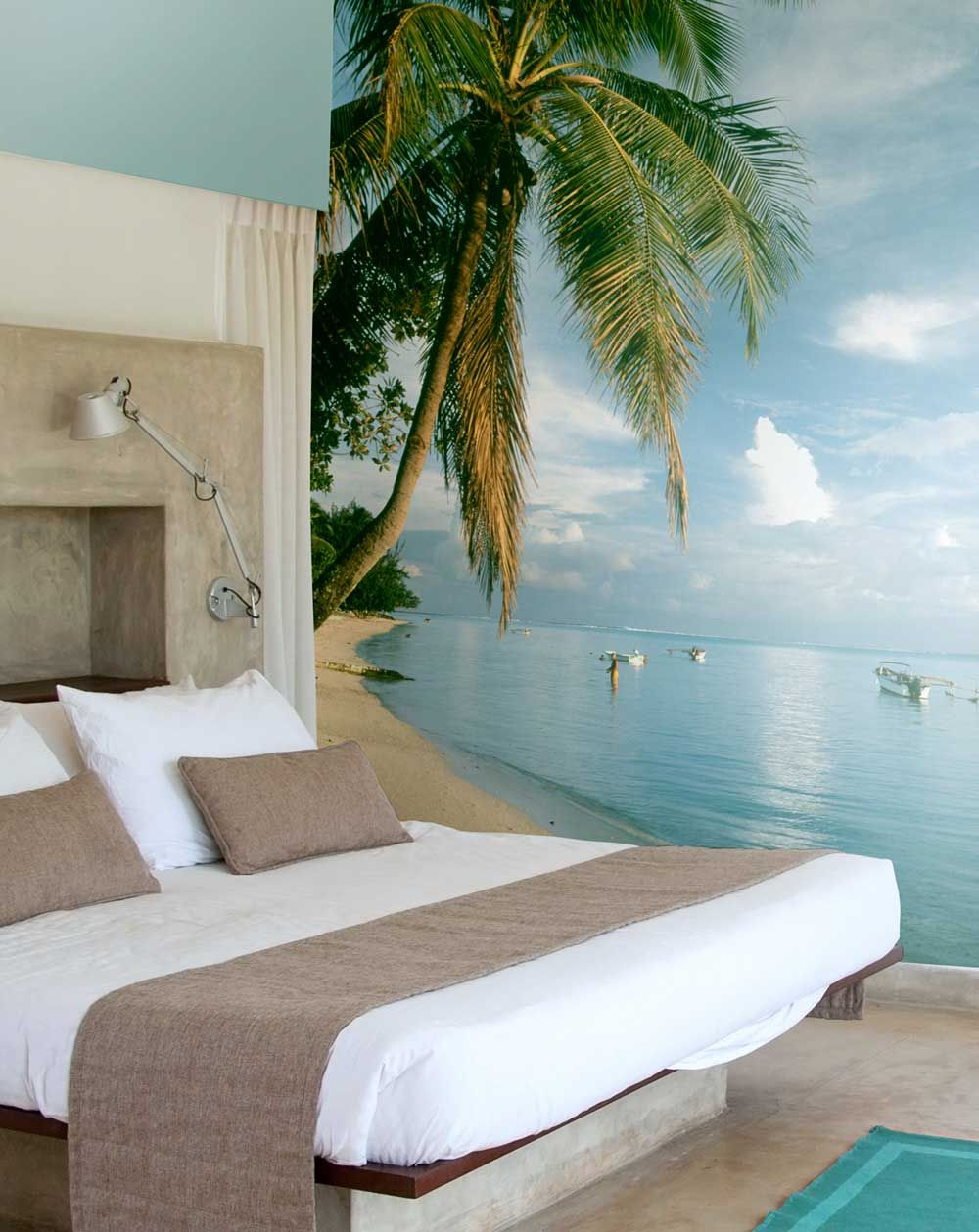 Tropical Bedroom Mural Beach Wall Murals Beach Room Beach