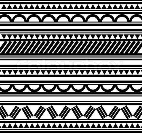stock vektor von 39 maori muster stil 39 pinteres. Black Bedroom Furniture Sets. Home Design Ideas