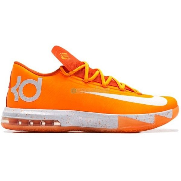 new style 041bc 1f1b6 Nike ID KD VI (6) Orangeade ( 275) ❤ liked on Polyvore featuring shoes,  sneakers, orange sneakers, orange shoes, nike trainers, nike shoes and nike  ...