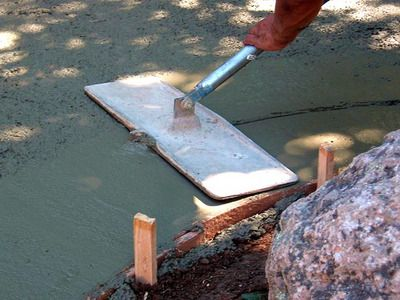 How to create a stained concrete patio diy easy things - Exterior concrete leveling products ...