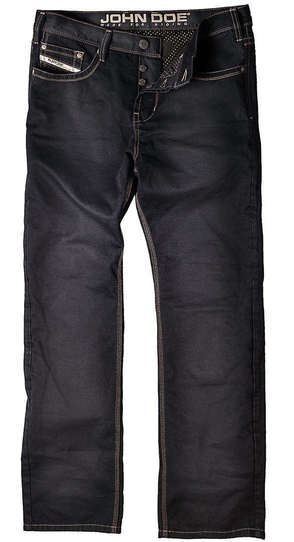 john doe kamikaze jeanshose schwarz style kevlar jeans. Black Bedroom Furniture Sets. Home Design Ideas