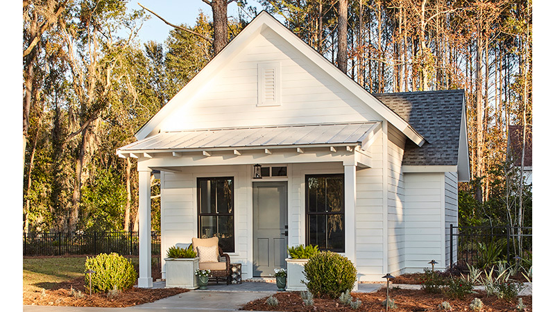 Whiteside Cottage Southern Living House Plans Guest Cottage Plans Custom Home Builders Cottage