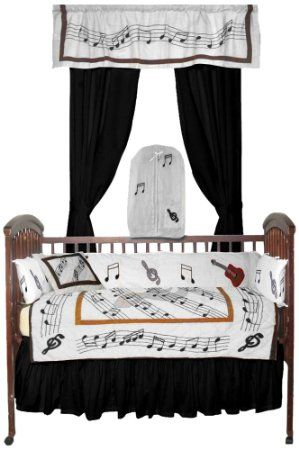 Patch Magic Music Crib Bedding Baby Sets Boy Rooms