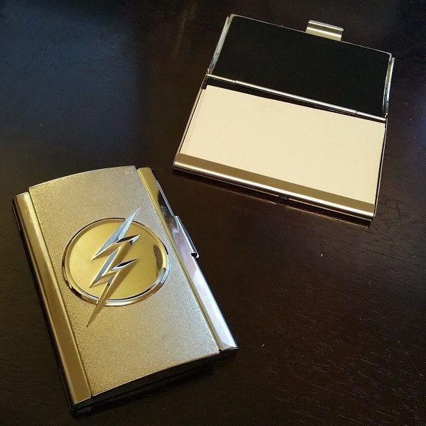 Dc Comics The Flash Tv Card Case Grant Gustin Tvs And Grays Anatomy