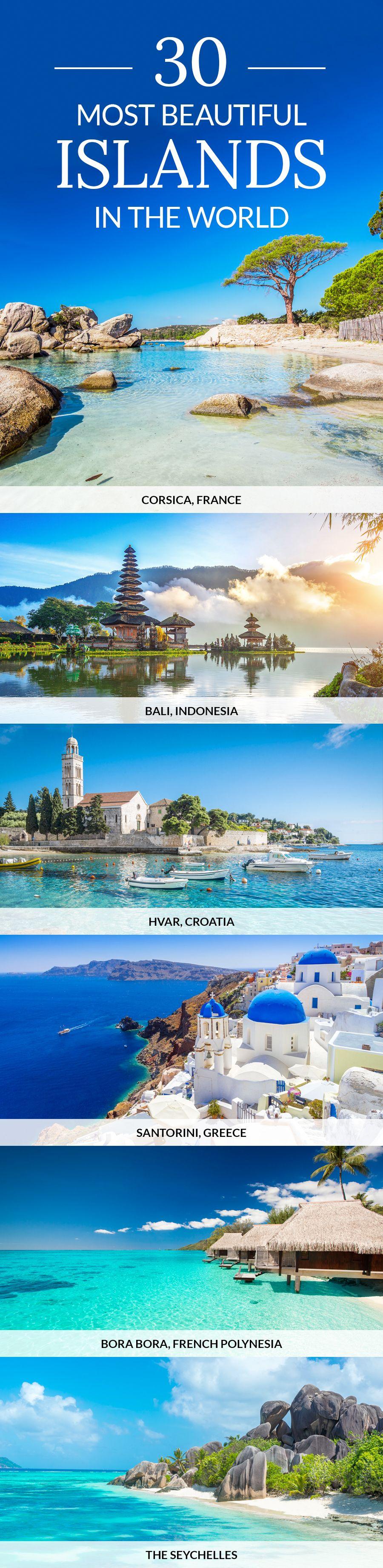 From Bali to Bora Bora here are