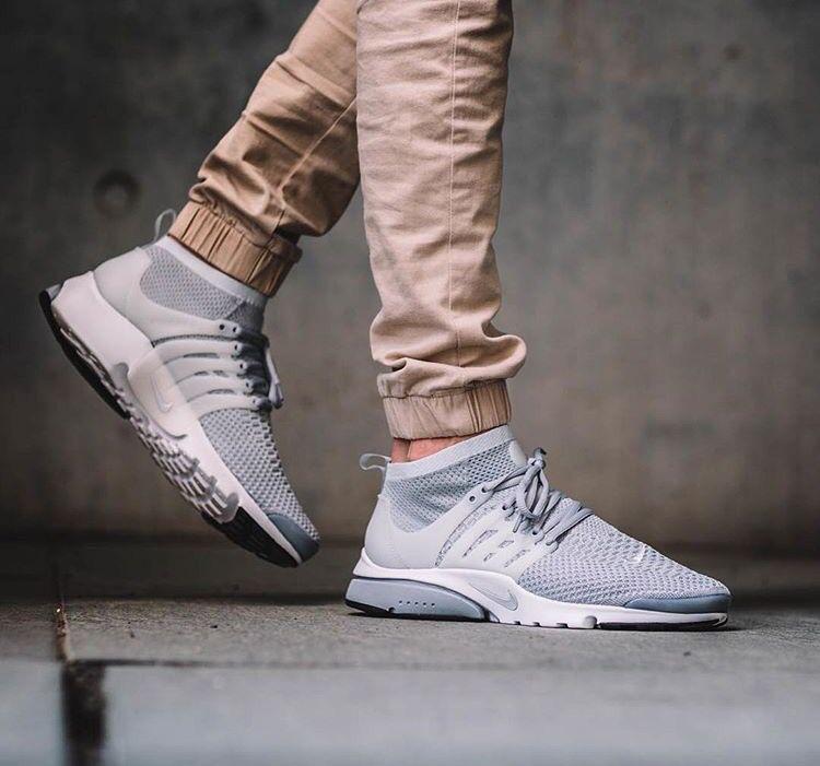 Nike Air Presto Flyknit Ultra; Grey. May2016.