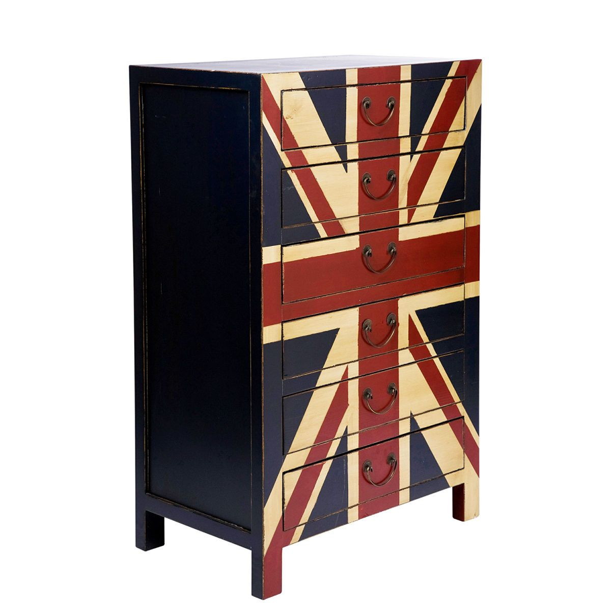 London Calling Chest Of Drawers With 6 Drawers Butlers England Wohnaccessoires Wohnen Geschenke