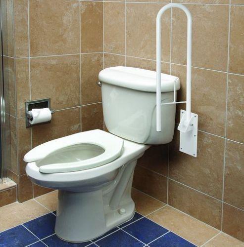 Safety Rail Frame Bathroom Toilet Grab Bar Support Handicap Holder ...