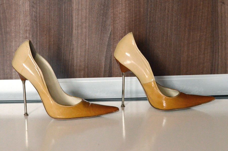 Steel Shoes Heels Pointy Made In Balestrieri Stiletto High Italy b76Yfyvg