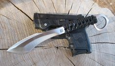 custom knife by Bigler Bladeworks