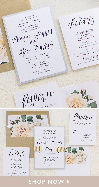 Modern Calligraphy Wedding Invitations Beacon Lane Modern Calligraphy Wedding Invitation Calligraphy Wedding Invitation Wedding Invitations