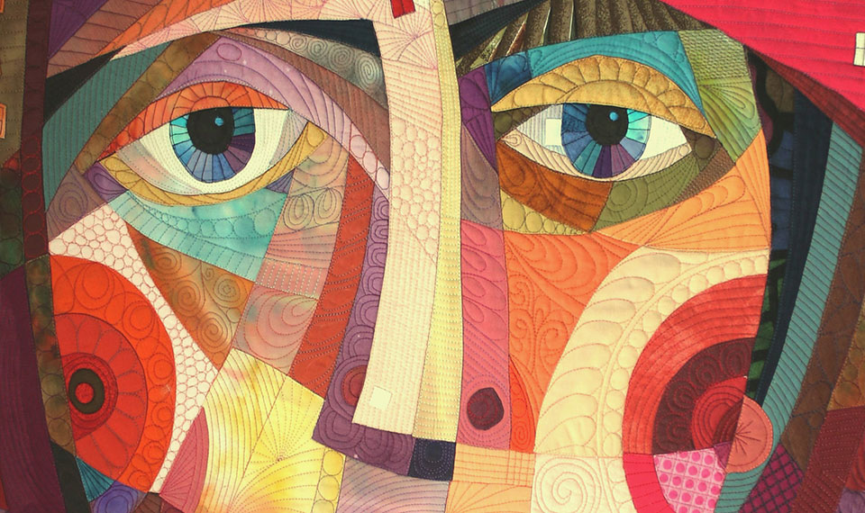 Russian Quilt Artist Face Google Search Art Artist Quilts