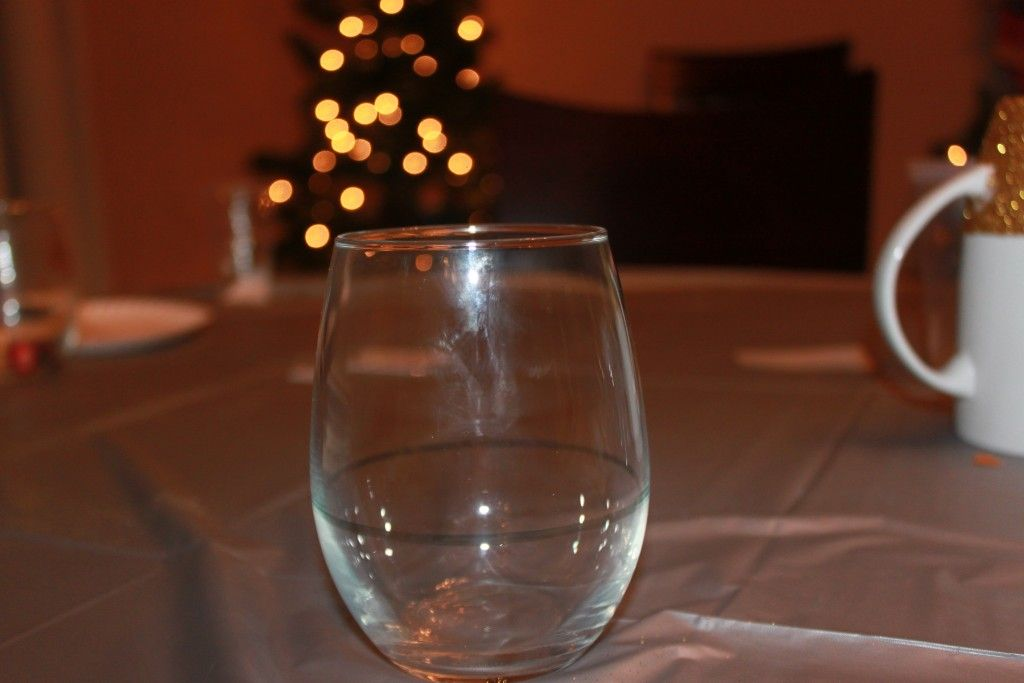 DIY How to Make a Glitter Dipped Mug and Wine Glass