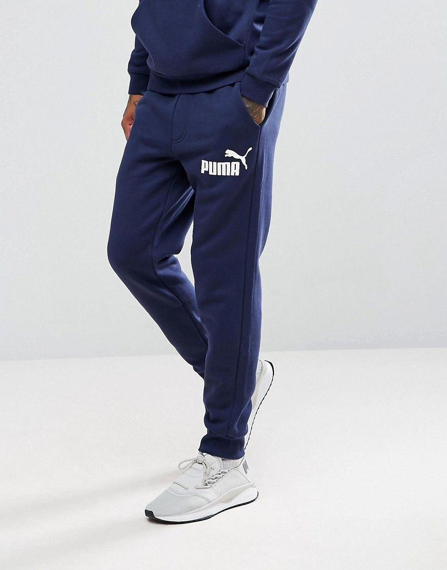 PUMA ESS NO.1 JOGGERS IN NAVY 83826406 - NAVY.  puma  cloth     Puma ... 0227bf80c6a3