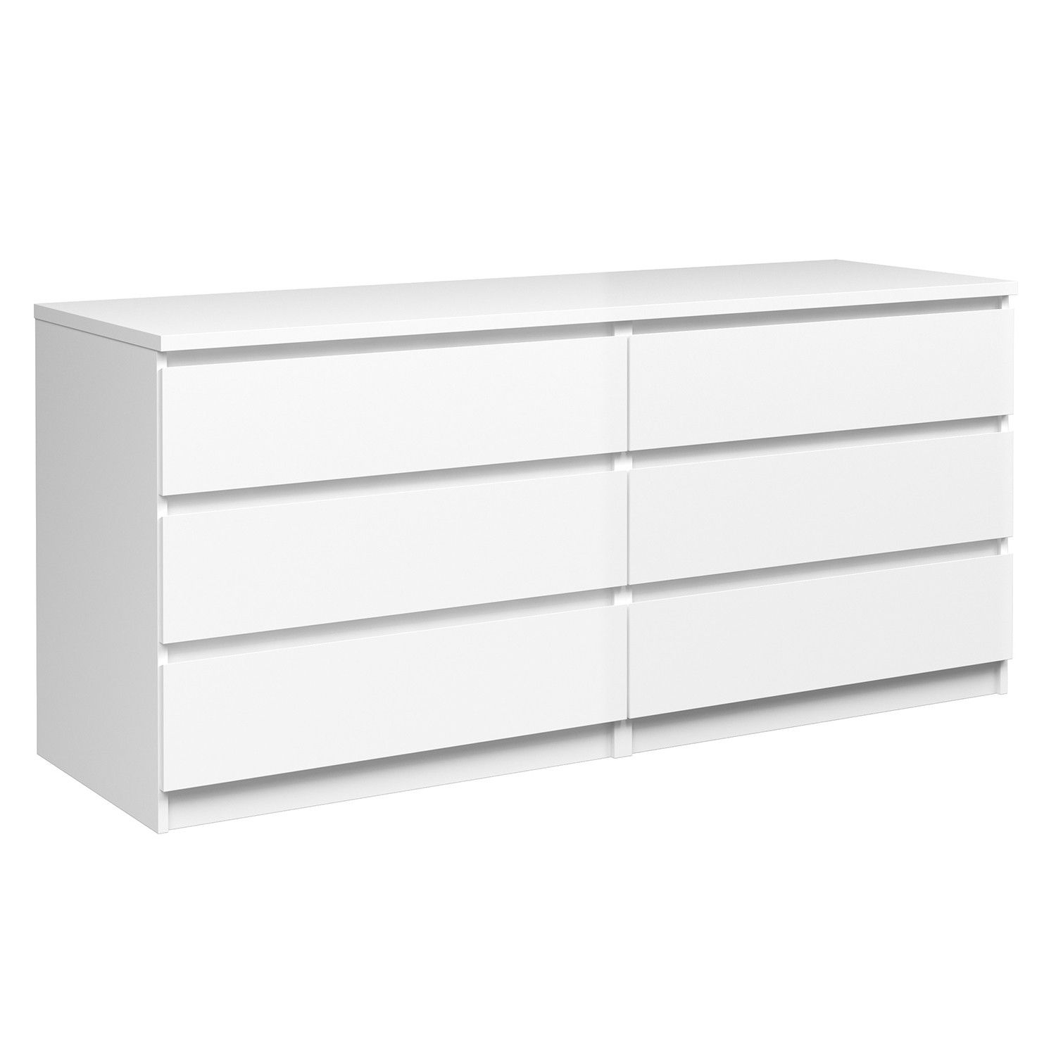 Jysk Brondby 6 Drawer Dresser White 279 99 Dresser Drawers 6 Drawer Dresser Dresser