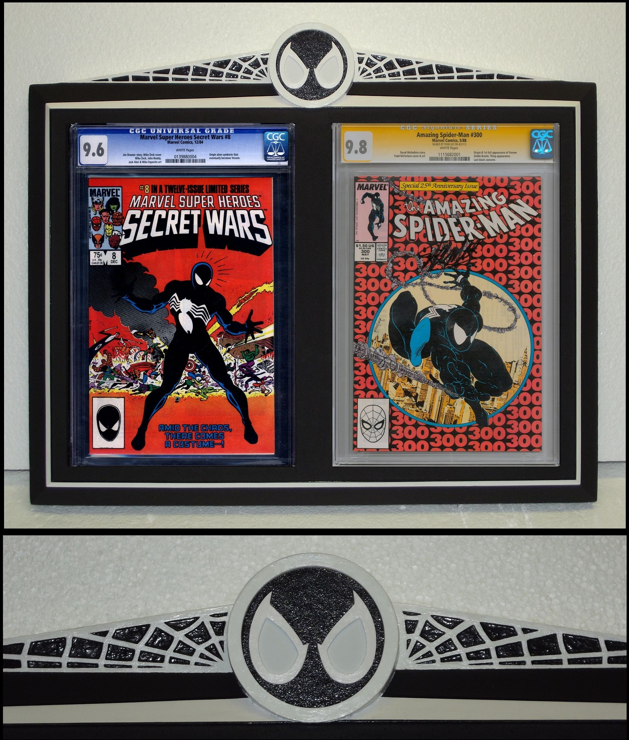 for the new cgc cases will also fit the old one.s 2 x cgc vinyl display covers