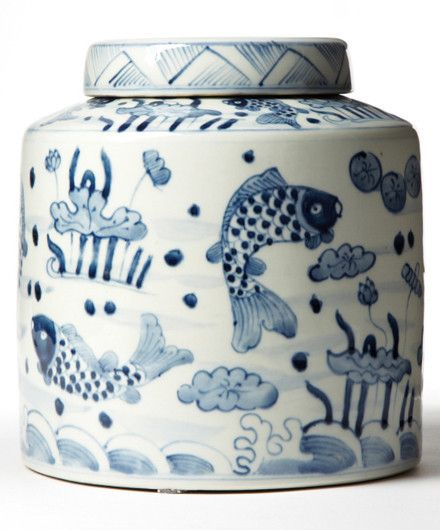 <p>Celebrate the ancient tradition of Chinese tea making with this gorgeous tea jar set from Tozai Home. The porcelain jars...