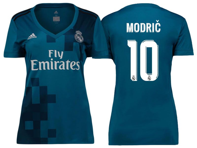 low priced 1e68b 3d626 Women Real Madrid 17-18 Third Jersey Shirt luka modric ...