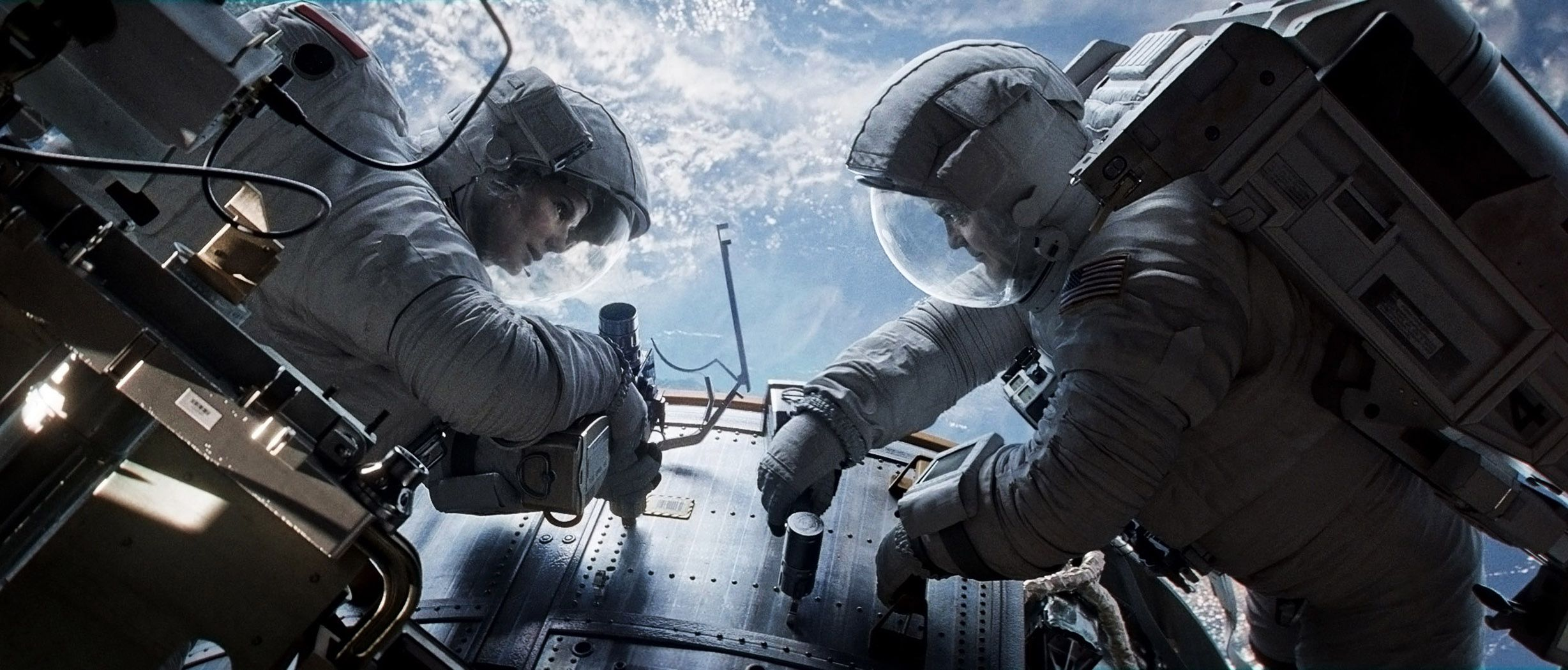 George Clooney: Career in pictures | Gravity movie, Space ...