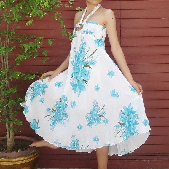 Light Blue Orchid Cotton Mix to Coconut Shell with by SeasonChange, $38.00