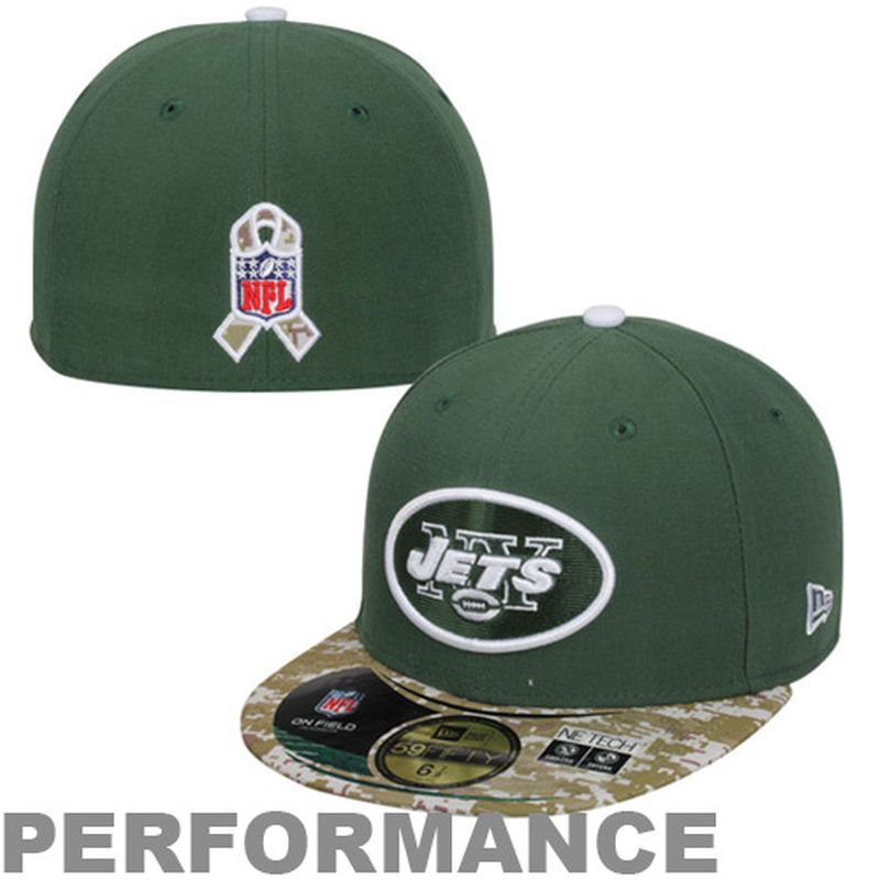 097e01197 New Era New York Jets Salute to Service On-Field 59FIFTY Fitted Hat – Green Digital  Camo