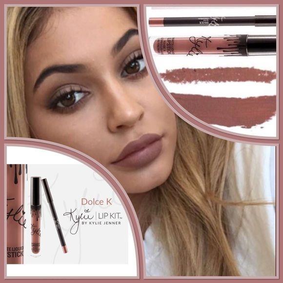Kylie Lip Kit Dolce K Bnib Kylie Lips Kylie Lip Kit Lip Kit