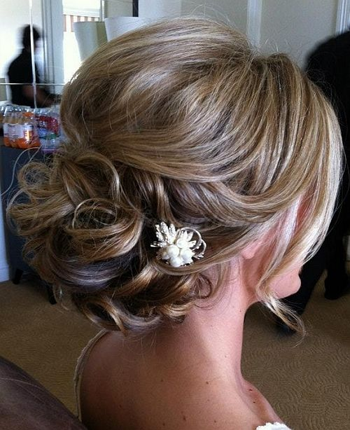 Low Loose Bun Hairstyles For Weddings: Chignon Wedding Hairstyles, Low Bun Wedding Hairstyles