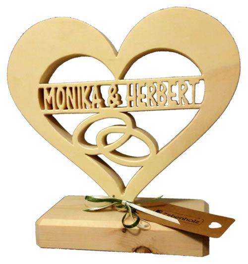Hochzeitsscheibe Aus Holz Personliches Hochzeitsgeschenk