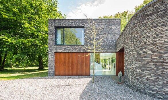 Stadtvilla klinker grau  Fassade graue Klinker | wohnen | Pinterest | Klinker, Fassaden und ...