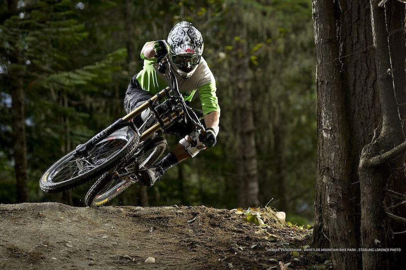 Thomas Vanderham At Whistler Mountain Bike Park In Whistler