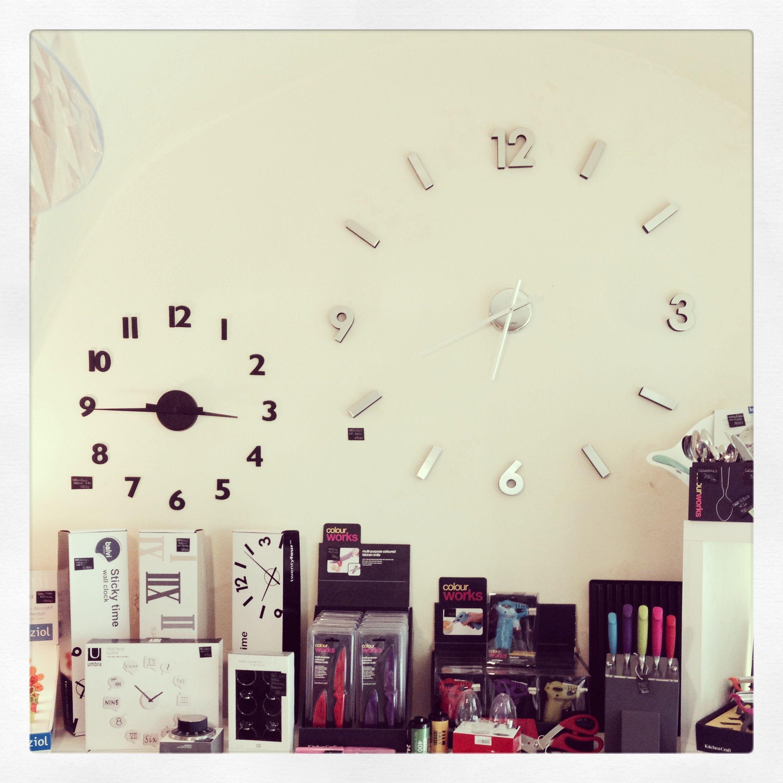Orologi bi adesivi da parete stilemisto wall home for Orologi da parete adesivi
