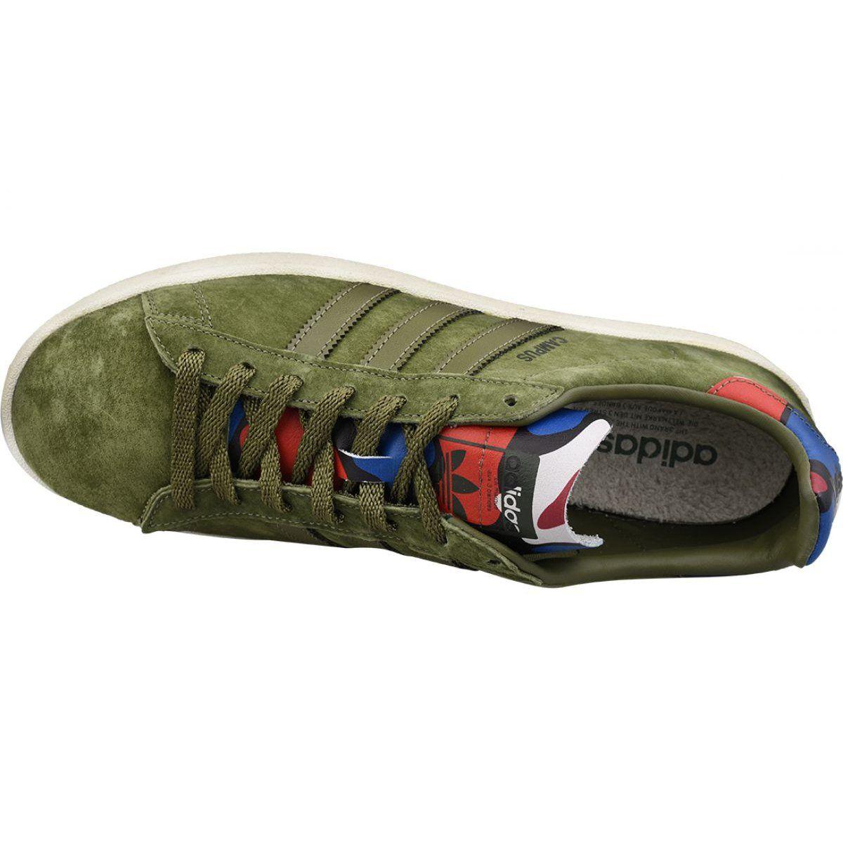 Buty Adidas Campus M Bb0077 Zielone Adidas Campus Shoes Adidas Brand