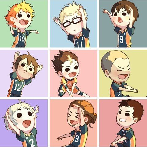 Image result for  haikyuu adorable