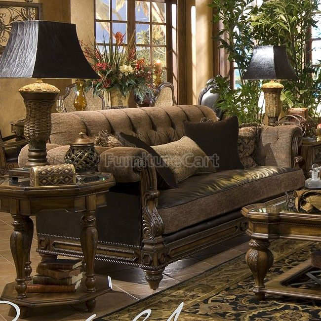 Search For Furniture: Old World Style Living Room Furniture